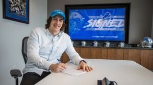 LaSalle's Luke Willson to play for Detroit Lions