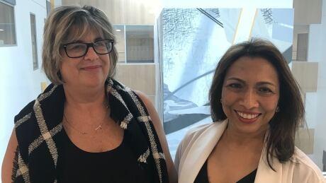 Susan Caluori and Dr. Nancy Gilbert