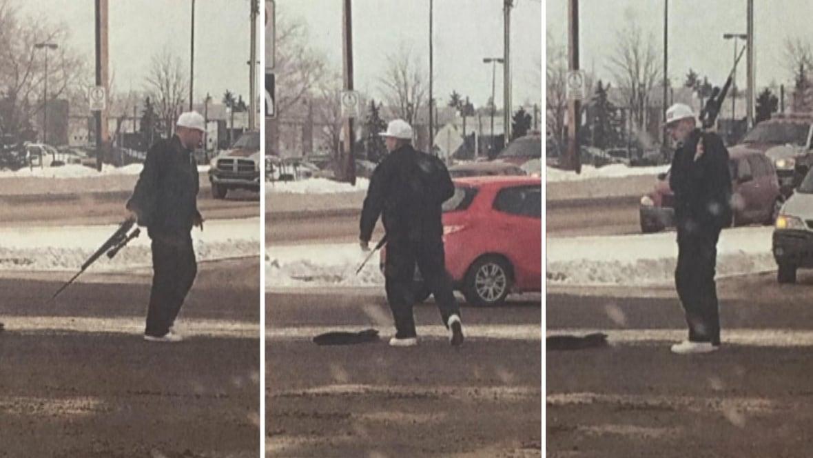 Rifle-toting man who terrorized Edmonton motorists doesn't blame cop who shot him