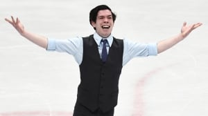 Canada's Keegan Messing skates to personal best at world championships