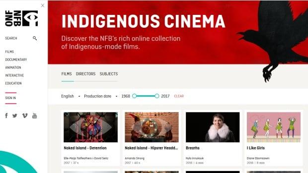 NFB Indigenous Cinema Homepage