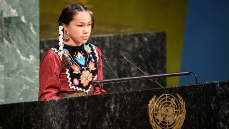 canadian teen tells un to warrior up give water same protections as people