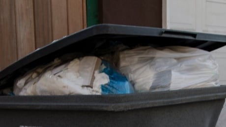 Public housing resident frustrated by others dumping garbage in her bin thumbnail