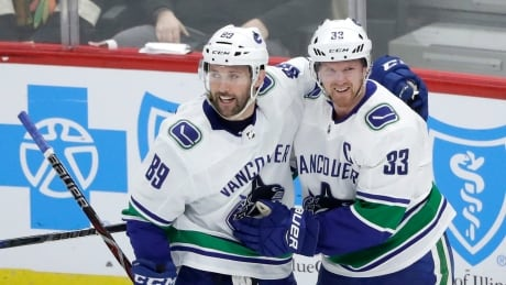 Canucks throttle Blackhawks to snap 7-game skid