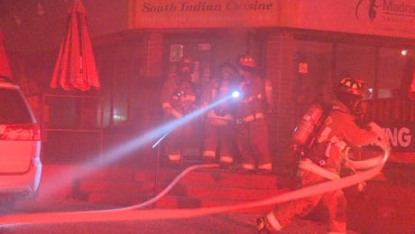 Firefighter injured during blaze at Christie Pits restaurant thumbnail