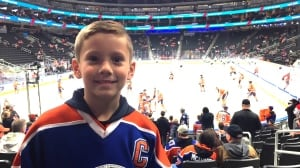 Young Connor McDavid fan makes power play for upcoming birthday party