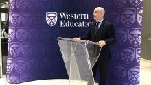 Juan Luis Suárez, Associate Vice-President of Research at Western Education