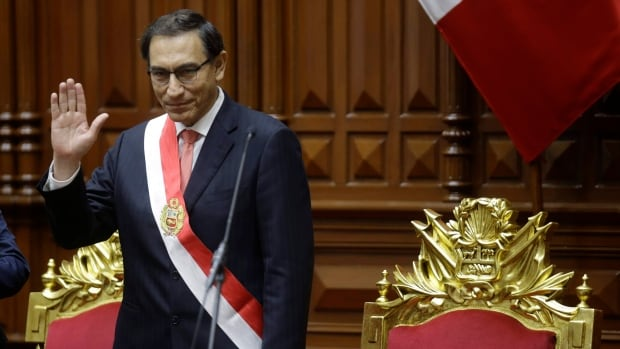Peru's Congress formally accepts resignation of president