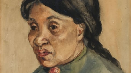 Emily Carr portrait of Squamish friend on sale for the first time