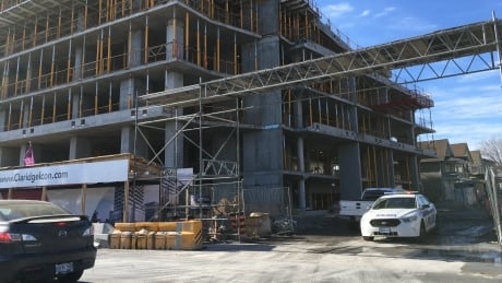 Police investigating workplace injury at Claridge construction site thumbnail