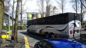 Granville Island parking crisis hits tour bus operators in the wallet