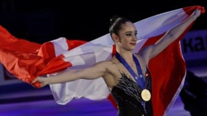 Kaetlyn Osmond wins figure skating worlds, 1st Canadian female champ in 45 years