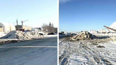 Calgary excess snow