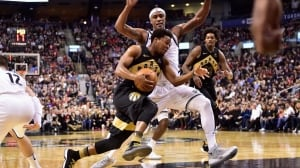 Lowry leads charge with triple-double as Raptors swat away pesky Nets