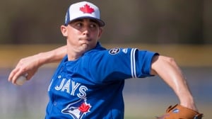 Blue Jays' Sanchez ready to start season against tough Yankees lineup