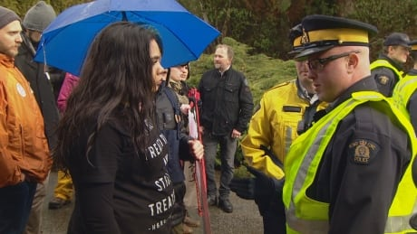 Sarah Harmer, Grimes join anti-pipeline protests in Burnaby, B.C.