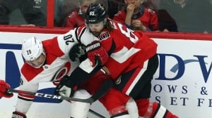 Hurricanes stifle Senators as Karlsson makes emotional return