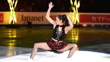 Women's World Champion Kaetlyn Osmond rocks gala performance