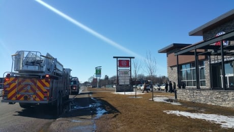 Boston Pizza on 8th Street evacuated Sunday afternoon thumbnail