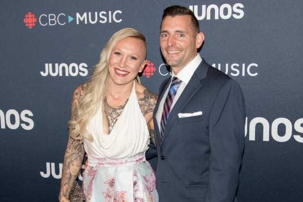 Canadian bobsledder Kaillie Humphries arrived on the red carpet, she had taken part in the Junos hoc