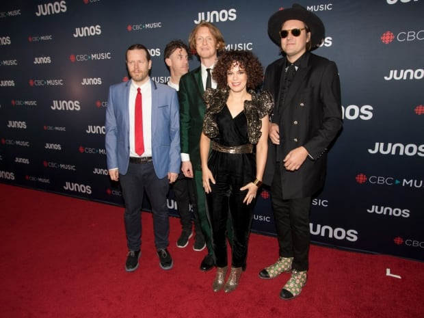 Quebec's Arcade Fire won album of the year Junos 2018