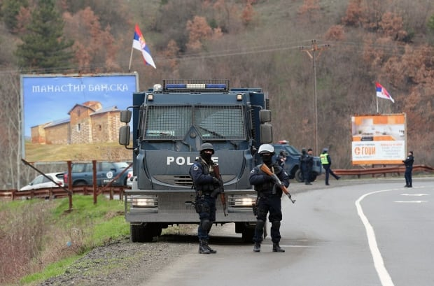 Arrest of Serbian Official in Kosovo