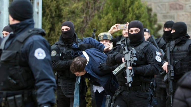 Serbian official arrested in Kosovo, reigniting hostilities between