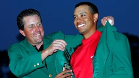 When Tiger Woods last won the Masters...