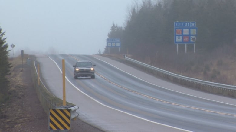 Highway 104 twinning project granted environmental approval   CBC News