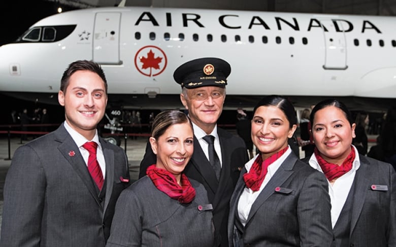 Air Canada flight staff graded on appearance, sexually