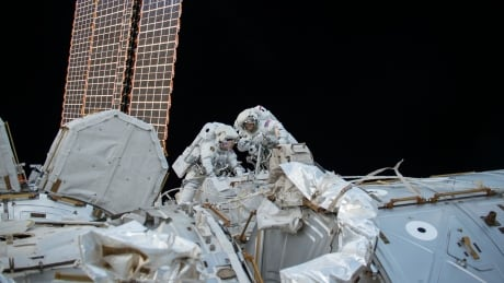 NASA space station spacewalk