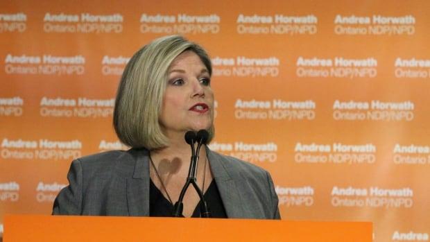Andrea Horwath unveils NDP platform ahead of June election | CBC News