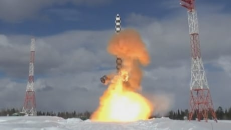 Russian missile test