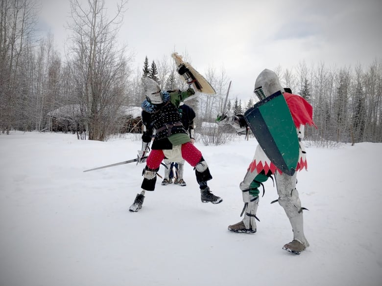 Pure pain': Medieval combat takes competitors from Yukon