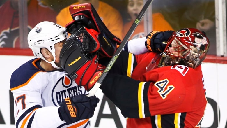 The Calgary Flames defeated the Edmonton Oilers 3-2 in the latest  installment of the Battle of Alberta. (Larry MacDougal Canadian Press) 13dabd3af