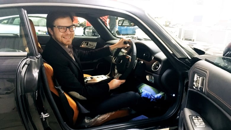 1 1m Luxury Car Designed By Dartmouth Man Makes Debut Cbc News