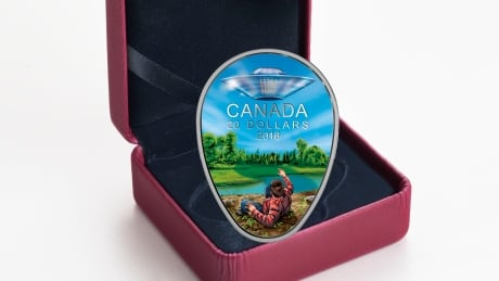 Mint's newest coin showcases famous Falcon Lake UFO encounter in Manitoba