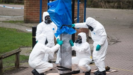 (FILE) BRITAIN CRIME ESPIONAGE SERGEI SKRIPAL