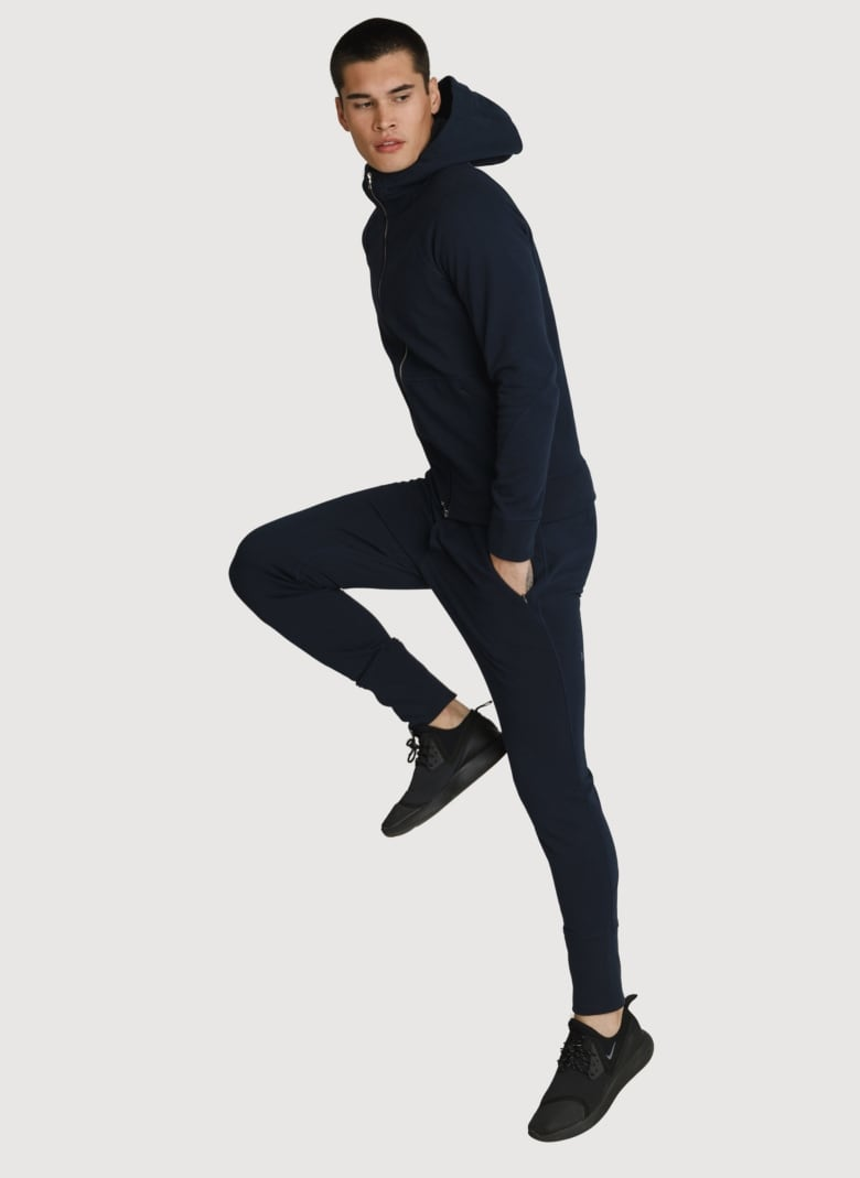 90685ee5 The simplest style of the bunch, this sleek Canadian-designed set is made  for minimalists. Look for body skimming separates like a slim leg jogging  pant ...