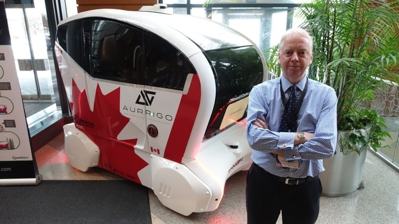 Ottawa's burgeoning autonomous car hub on a roll | CBC News