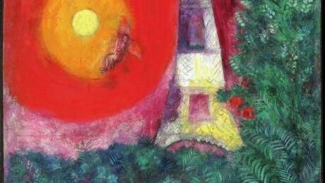 Marc Chagall's The Eiffel Tower