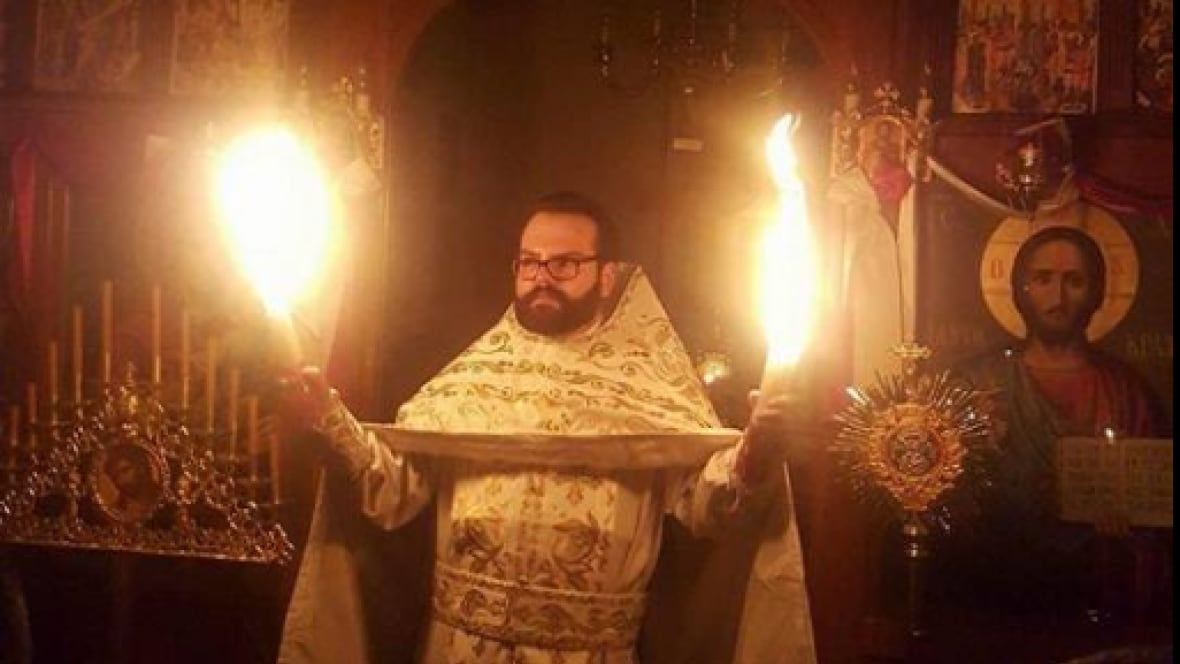 'Holy Fire' Ceremony Helps Orthodox Christians Usher In Easter