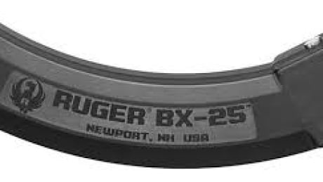 Ruger BX-25 magazine for 22-calibre rifle