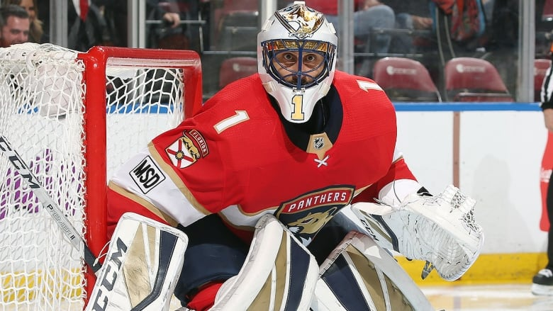 Elite Company Roberto Luongo Plays In 1 000th Nhl Game Cbc Sports