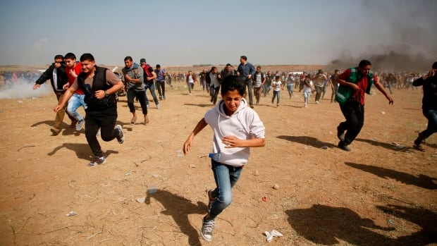 Call me radical, but journalists should be able to pledge support for Palestinian journalists: Opinion | CBC News