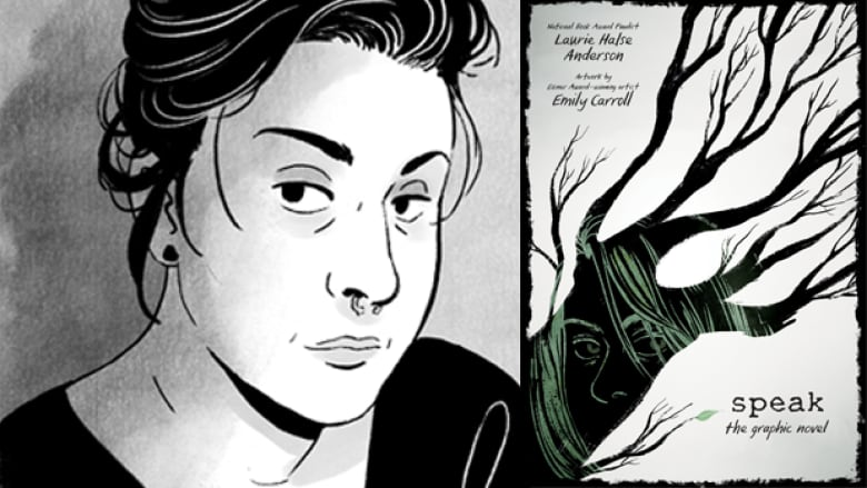 How Emily Carroll illustrated Laurie Halse Anderson's