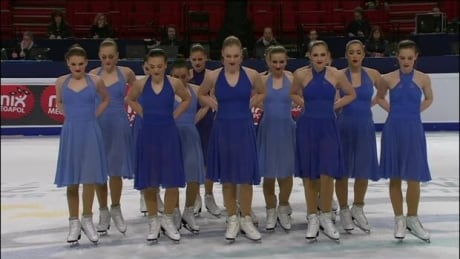 Team Nexxice place 8th at World Synchronized Skating World Championships