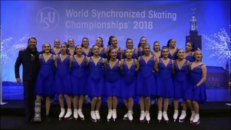Les Supremes Seniors finish 5th in Synchronized Skating World Championships for Canada