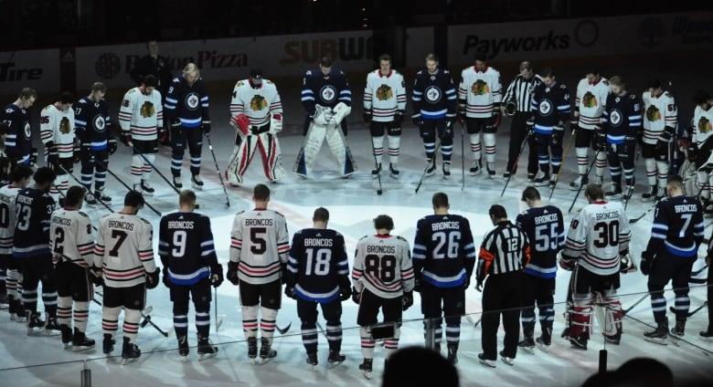 the best attitude e17aa 459e8 Jonathan Toews, Winnipeg Jets exec Mark Chipman deliver NHL ...
