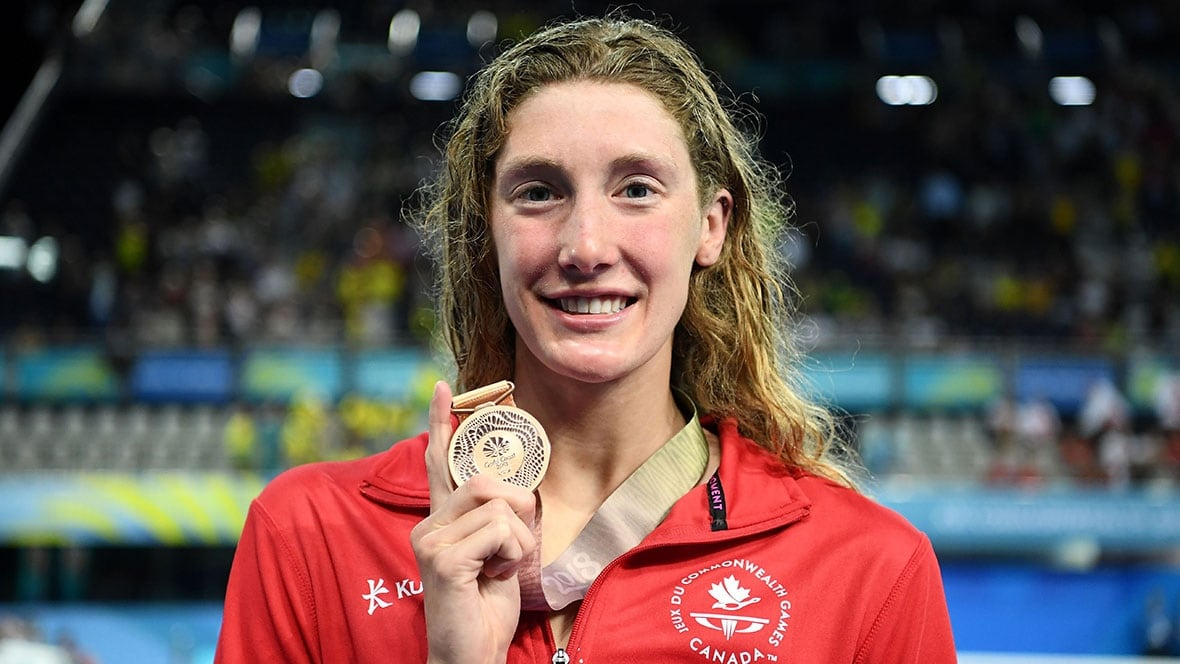 Taylor Ruck matches Canadian Commonwealth Games record with 7th medal